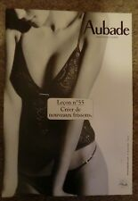 AUBADE Cardboard Stand POS Advertising Sexy Lingerie Nude, Lesson Leçon nº 55