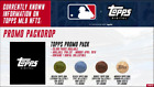 MLB NFT Series 1 by Topps, Promo Pack Mint # 12,264 RARE