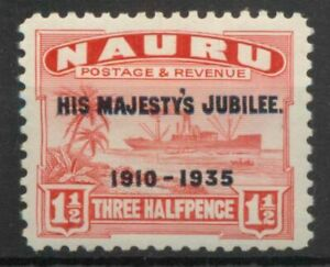 Nauru 1924 Century freighter ship 1½d SG 28B MM mint B574 *COMBINED POSTAGE*