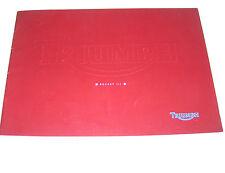 Prospekt / Broschüre Triumph Rocket III - Stand 2003!