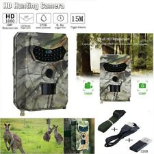 1080P HD 12MP IP56 Caza Trail Cámara Video Fauna Exploración Visión nocturna por