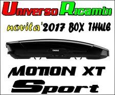 Box Da Tetto Thule Motion XT SPORT NERO Lucido 300 Litri