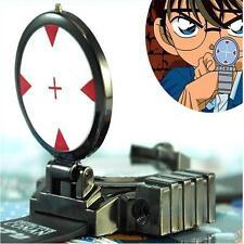 NEW Anime Detective Conan Infrared Glass Red Light Laser Analog Boy Wrist Watch`