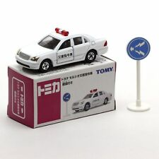 TOMY AEON TOMICA NO.17 TOYOTA CELSIOR DISASTER COMMAND CAR w/ Sign