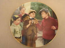 Butch'S Challenge collector plate The Little Rascals Rare - only 10 firing days