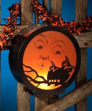 Bethany Lowe Moon with Owl Lantern Halloween Decor Vintage Style