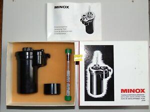 MINOX Tageslicht Entwicklungsdose Daylight Developing Tank mit Gebrauchsanleitun