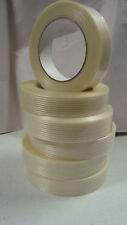 6 X Monoweave Glass Yarn Filament Tape Quality Brand 25mm wide Roll Packing