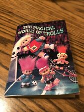"""Russ """"The Magical World of Trolls"""" 1992 Mini Book Catalog Booklet Pamphlet"""