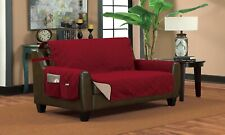Home Sweet Home Family-Favorite Reversible Quilted Slipcover Furniture Protector