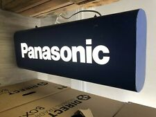 Vintage And Fully Working Panosonic Light Up Double Sided Sign