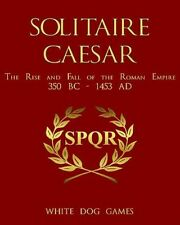 Solitaire Caesar, Solitaire Wargame, New by White Dog Games, English Edition