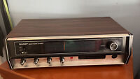 VTG Sharp Solid State Mid-Century AM/FM Stereo Tuner Amplifier SA-104U JAPAN