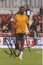 SOUTHEND: ANTON FERDINAND SIGNED 6x4 ACTION PHOTO+COA