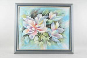 k67v27- Gemälde, Blumen, sign. W. Myska