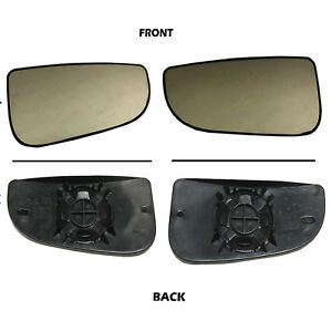 New Right & Left Tow Mirror Glass Convex Power Outer For Dodge Ram 1500 3500