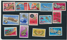 Trinidad & Tobago Mint NH Collection 14 Different Pictorials All Complete Sets