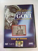 DVD TUTTO GILBERTO GOVI COLPI DI TIMONE RAI TRADE FABBRI EDITORE CONTENUTI EXTRA