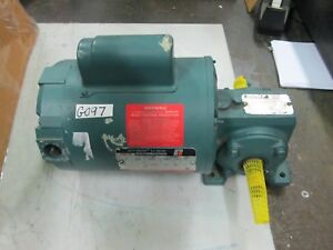 Reliance Master XL Gear Motor Ident # 102672-TL 97916-02-HL 1/3 HP 115V (New)