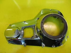 HARLEY-DAVIDSON ELECTRA GLIDE CHROME ENGINE MOTOR PRIMARY CLUTCH SIDE COVER