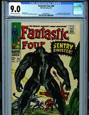 Fantastic Four # 64 CGC 9.0 1967  Marvel Comic 1st Kree Sentry Amricons K19