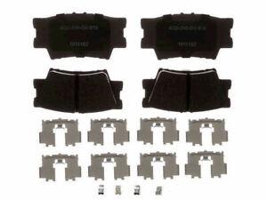 Rear AC Delco Brake Pad Set fits Lexus ES350 2007-2018 67QJRH