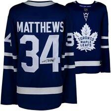 AUSTON MATTHEWS Signed TORONTO MAPLE LEAFS ADIDAS NHL Jersey Fanatics COA