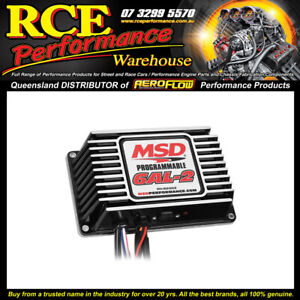 MSD 65303 6AL-2 Programmable Digital Ignition w/rev Limiter(black Vers. Of 6530)