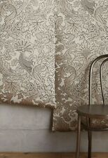 Anthropologie Wallpaper Balabina Bird tan gold taupe mauve $198 NIP