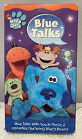 Blue Talks Blues Clues Nick Jr Vhs