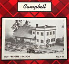 Campbell Scale Models HO Kit #447 - Freight Station