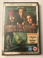 PIRATES OF THE CARIBBEAN: DEAD MAN'S CHEST (2-DISC SPECIAL ED, DVD) (2006) - NEW