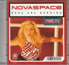 "Novaspace - Beds Are Burning (3"") Mini Pock it CD 2003 Euro House"