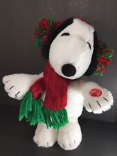 Peanuts Snoopy Animated Dancing Musical Plush DanDee Plays Linus & Lucy C VIDEO