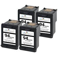 4 PACK For HP #94 Black Ink For Officejet 6200 6210 6213 6215 7210 7310 7410
