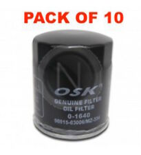 OSAKA OIL FILTER OZ334 INTERCHANGEABLE WITH RYCO Z334 (BOX OF 10)