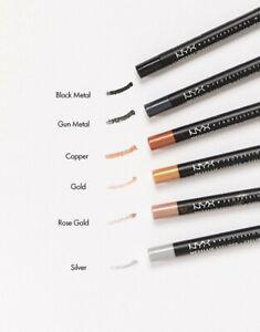 NYX Professional Makeup Metallic Eye Pencil Choose Rose Gold or Cooper Sealed