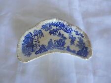 Vintage Willow Japan pin dish China gilt edge