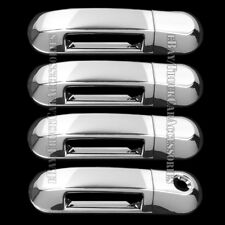 For FORD Explorer 2002-2007 2008 2009 2010 4 Chrome Door Handle Covers w/o PSK