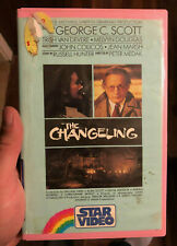 'The Changeling' Star Video VHS Ex Rental Cult Horror Movie