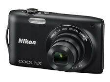 Nikon COOLPIX S3300 16.0MP Digital Camera - Black
