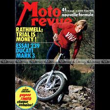 MOTO REVUE N°2202-b ★ Poster HENK VAN KESSEL / KREIDLER ★ DUCATI 250 DESMO 1975