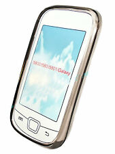 SILICONE TPU per cellulare Cover Case in Smoke per Samsung i5800 + Proteggi Schermo