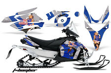 AMR RACING SNOWMOBILE DECAL GRAPHIC KIT YAMAHA PHAZER RTX GT MTX 07-12 TBU