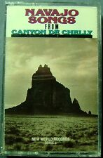 Navajo Songs from Canyon de Chelly: Multi-Artist (Cassette, 1990, New World) NEW