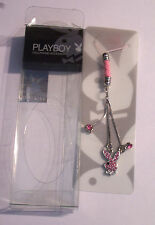 Original Playboy Dangle Cell Phone Charm......PINK Crystals.. COLLECTABLE!