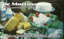 SCHEDE PRIVATE RESE PUBBLICHE L. 2000  NUOVA GOLDEN N. 260 DE MARTINO FORMAGGI