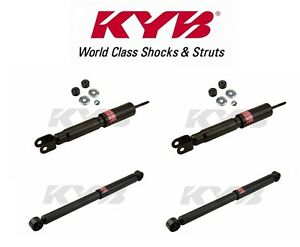 NEW Pair Set of 2 Rear KYB Shock Absorbers For Chevy Tahoe GMC Yukon XL1500