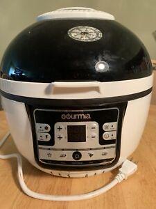 Gourmia - Digital Air Fryer - White/Black