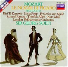 Mozart: Le nozze di Figaro / Te Kanawa, Popp, Ramey, Solti [Highlights]